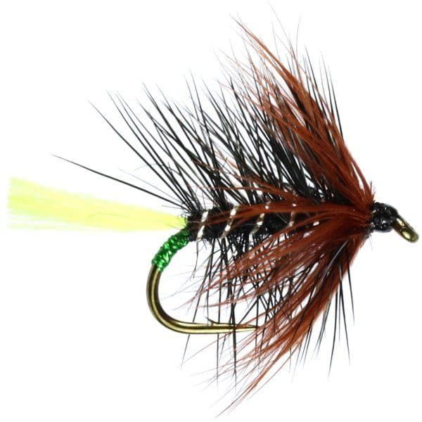 Kate McLaren Fluo Tail Hackled Wet