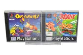 GP1 PS1 Game Box Protectors