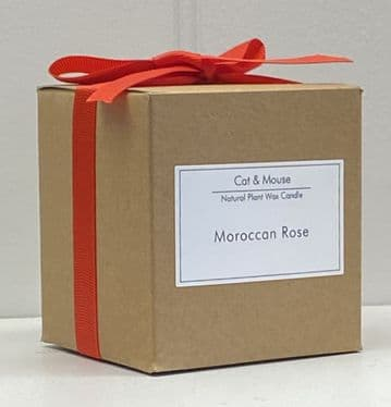 Scented Candle  20cl in a Gift Box - Moroccan Rose