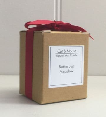 Scented Candle  9cl in a Gift Box - Buttercup Meadow