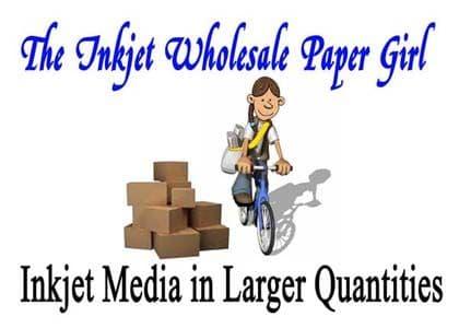 The Inkjet Wholesale Paper Girl