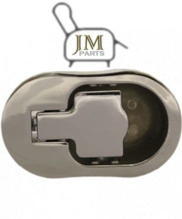 JM01 chrome metal recliner handle