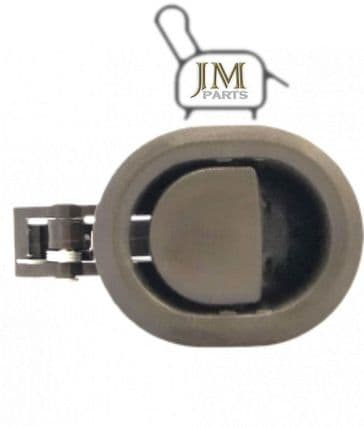 JM17 brown plastic recliner handle