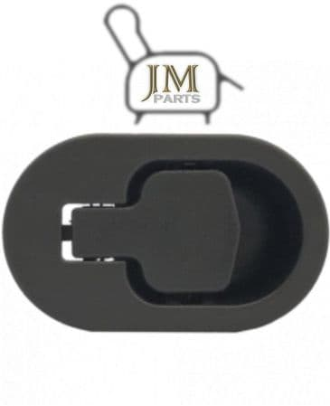 JM18 black plastic recliner handle