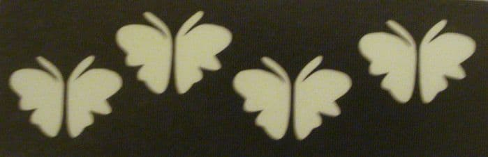 5 x BUTTERFLY BAND