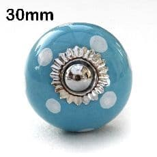 30mm blue/white spots