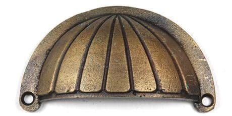 Bronze Shell Cup Handle