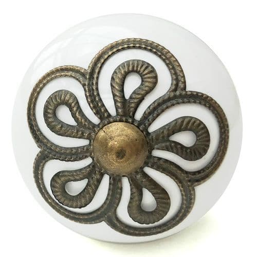 Antique Loopy Fitting Knob