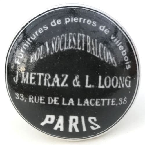 BLACK Furniture de Paris knob