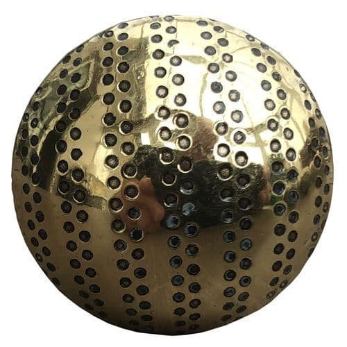 Brass with  dots knob