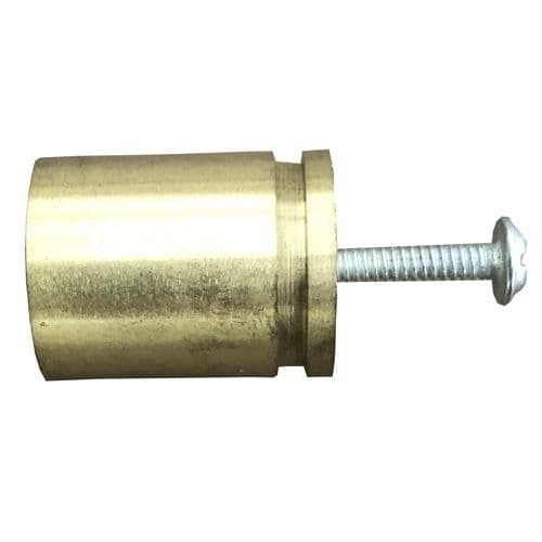 Gold 25mm Dint Stub Pull