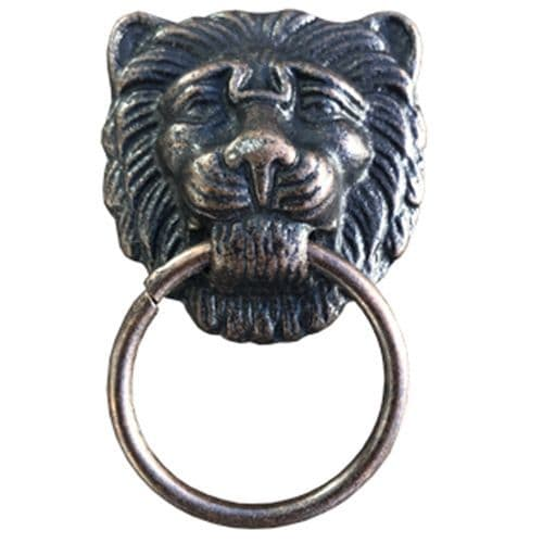 Lion Pull - Antique