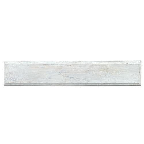 Modern Rectangular 5 Hook Board. White