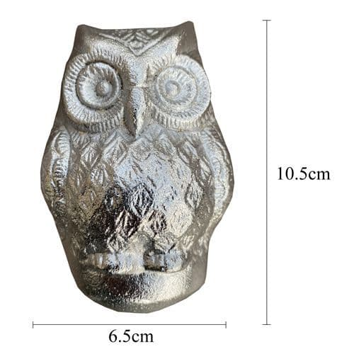 Owl Knocker - Silver
