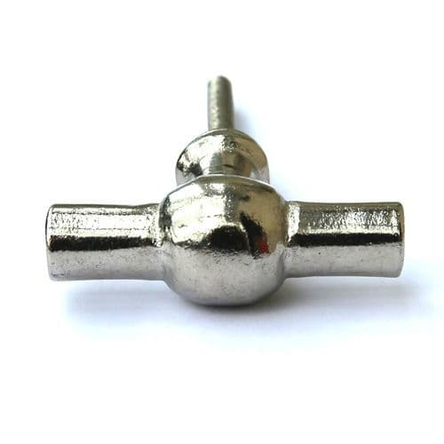 Silver Iron Toggle Pull