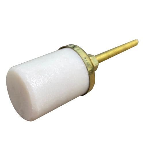 Stone white/gold barrel