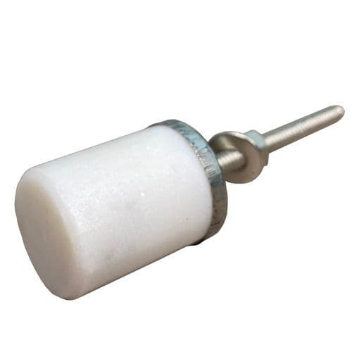 Stone white/silver barrel