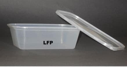 Microwave Container & Lid [1000ml] x 250