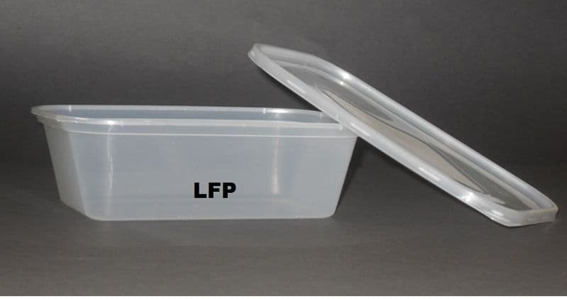 LLL Microwave Container & Lid [1000ml] x 250