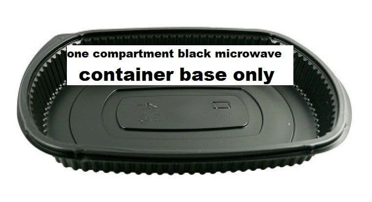 Somoplast [826] Black Microwavable Container [750cc] x 260
