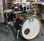 DRUMCRAFT SERIES 4  5-PIECE KIT MAHOGANY FADE