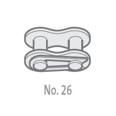 SD08B-1-NO26 Chain Connecting Link 1/2