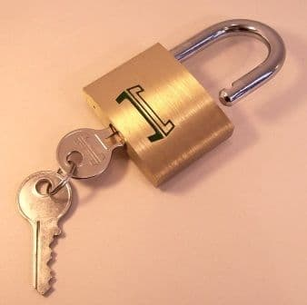 50mm Padlock for chain locking boxes