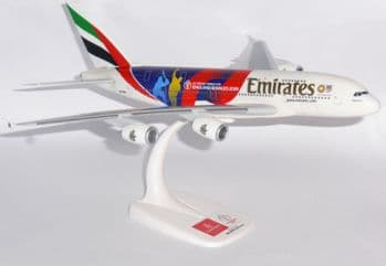 Airbus A380 Emirates Airline Cricket World Cup Collectors Model Scale 1:250 E