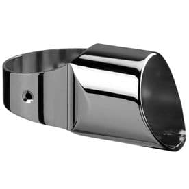 Fusion Chrome Half Landing  Connector for Newel to Handrail