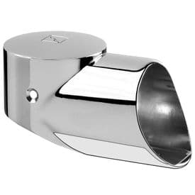 Fusion Chrome Landing  Connector for Newel to Handrail