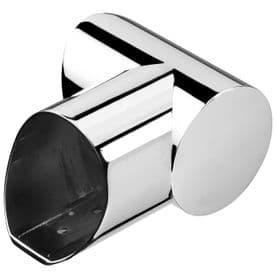 Fusion Chrome Right Hand Horizontal Turn for Landing Handrail
