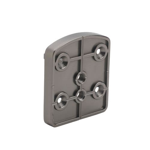 Immix Handrail Wall Connector in Gun Metal