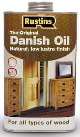 Rustins Danish Oil 1ltr Quality Furniture Protection