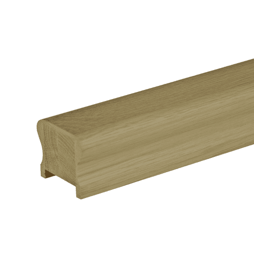 Solid White Oak HDR Handrail 41mm Groove and Fillet Strip