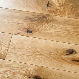 Solid White Oak Rustic Grade Flooring Natural 20x145mm Floorboard