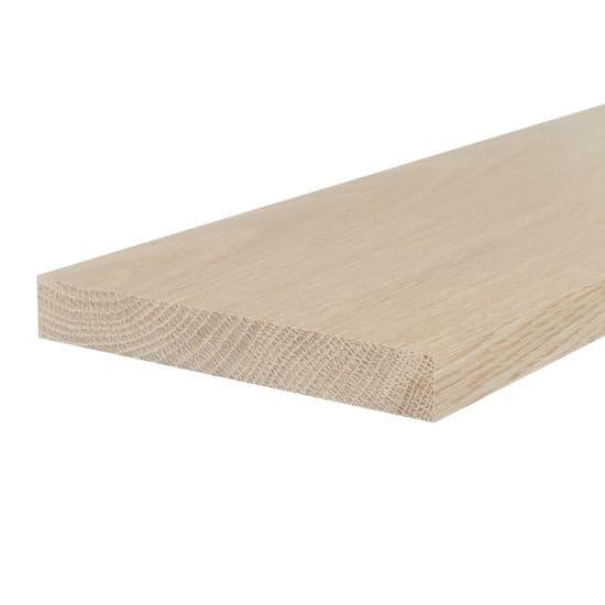 Oak Flat Threshold - Square Edges