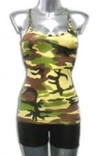 Army Vest Top