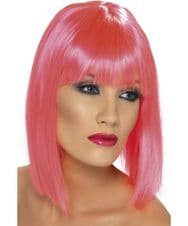 Glam Neon Wig (Pink)