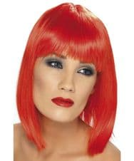 Glam Neon Wig (Red)