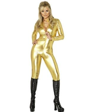 Gold Catsuit
