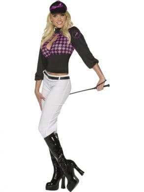 Jockey Derby Diva costume