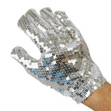 Sequinned Michael Glove