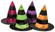 Witch Hat With Stripes