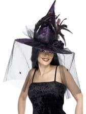 Witch Hat With Veil