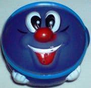 Blue Smiley Ball