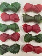Soft Porkhide Knots  (10 pack) Wholesale Importer Munchy Container Clearance Sale