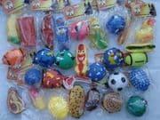 Squeaky toys x100