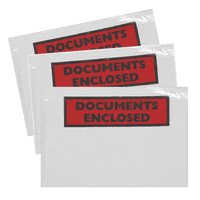 DL Document Enclosed 225x122 Printed