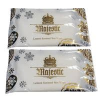 Large Majestic Scented Hand Wipes