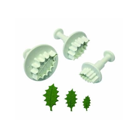 1 Holly Leaf Small Plunger Cutter